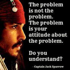Since Jonny Depp said it, it must be true. I should keep this in mind.