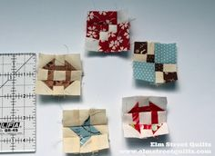 Mini Blocks | Elm Street Quilts