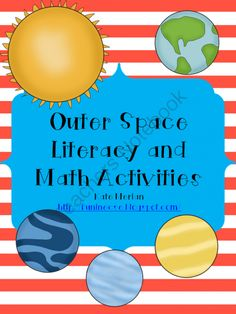 Outer Space Literacy and Math Activities from Fun in ECSE on TeachersNotebook.com -  (65 pages)  - A great introduction to space for pre-k and kindergarten students.