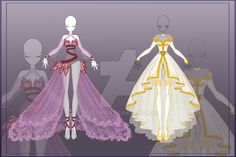 [Close]  Adoptable Outfit Auction 8-9 by LifStrange.deviantart.com on @DeviantArt