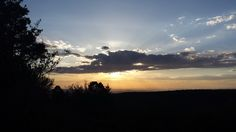 Sunset over Uinta National Forest, Utah.