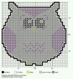 AQUARIUS OWL by LISA DAVIS