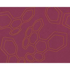 Abstract Shapes Wallpaper in Orange and Purple design by BD Wall ($50) ❤ liked on Polyvore featuring home, home decor, wallpaper, orange home accessories, abstract wallpaper, purple home decor, purple home accessories and orange home decor
