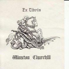 Ex libris Winston Churchill