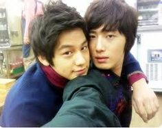 Image result for lee min ho and jung il woo