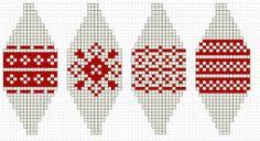 Afbeeldingsresultaat voor gratis patroon gebreide kerstballen