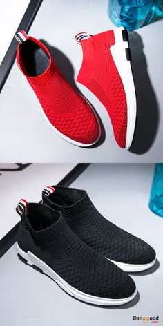 US$40.45+Free shipping. Buy more &Save more. Gift for him! Men's Shoes, Breathable, Mesh, Casual, Shock Absorption Sneakers. Color: Black, Red. Shop now~