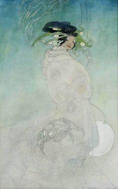 Spider woman, Bertha Lum