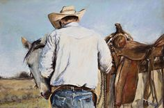 Gentle Approach by Sarah Harless from AWA's 2017 spring online juried show. #womenartists #springonlineshow17