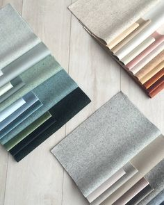 Instyle is a supplier of high-quality interior finishes. View our range of sophisticated textiles, leathers, wallcoverings + acoustic panels on our website. Colour Pallete, Colour Schemes, Textiles, Fabric Board, Material Board, Design Palette, Entrance Design, Colour Board, Commercial Interiors