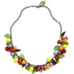 Out for Dessert Necklace ($40) ❤ liked on Polyvore