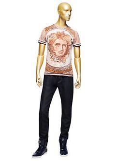 Versace - Mosaic Medusa T-Shirt