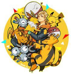 Pokemon Go's Team Leaders Dump - Imgur