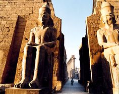 Luxor, Egypt ... Luxor Temple.. these sights render one speachless