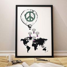 God morgen! Det eneste vi mangler i verden er fred! Tenk hvor fin verden hadde vært hvis alt hadde vært fredelig? Ha en flott og fredfull dag alle sammen!