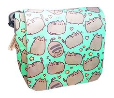 Pusheen The Cat Messenger Cross Body Shoulder Bag Pusheen https://www.amazon.com/dp/B06W53D6X8?m=A1WRMR2UE5PIS8&ref_=v_sp_detail_page