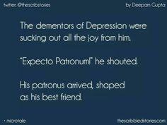 Harry Potter feels Wish i had that patronus Harry Potter Puns, Harry Potter Feels, Harry Potter Universal, Harry Potter World, Harry Otter, Hp Quotes, Tiny Tales, The Villain, Book Fandoms