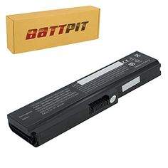 cool Battpit™ Laptop / Notebook Battery Replacement for Toshiba Satellite C660-10H (4400 mAh)