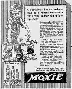 1926 moxie ad by daves cupboard, via Flickr