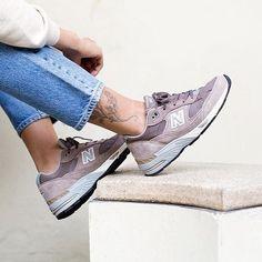 Sneakers femme - New Balance 991 (©crepecity)