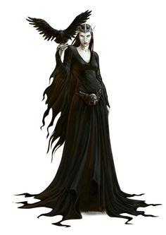 Raven queen avatar.