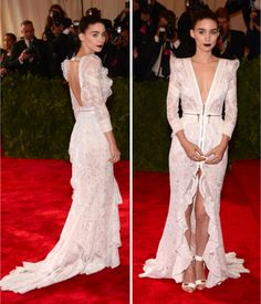 Rooney Mara in the MET Ball 2013