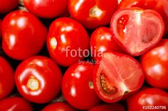 fresh tomatoes as background