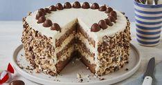 Chocolate Candy Cake, Chocolate Bonbon, Chocolate Desserts, Baking Recipes, Cake Recipes, Dessert Recipes, Mascarpone Recipes, Mascarpone Creme, Dessert Sauces