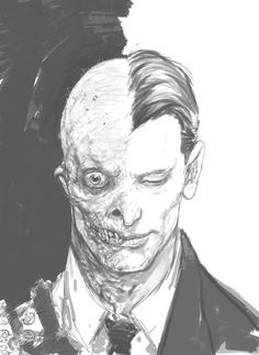 Never-Seen-Before Concept Art From 'The Dark Knight' by Rob Bliss