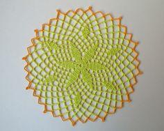 QS crochet: Serwetki z tropików