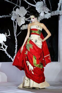 Dior Haute Couture Kimono (Spring 2007).