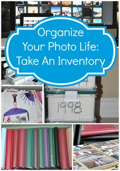 #Organize Your Photo Life: It's Inventory Time #photomems