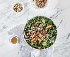 This Arugula, Quinoa + Nectarine Salad Is A Summer Classic - The Chalkboard