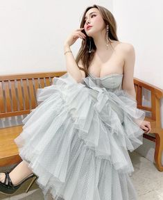 Ball Gowns, Boobs, Tulle, Formal Dresses, Skirts, Women, Fashion, Ballroom Gowns, Dresses For Formal