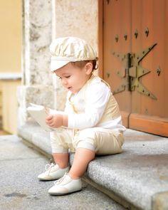 Gabriel's Christening | Carter Boys Silk Christening Outfit