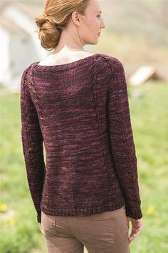 Barnard Raglan - Media - Knitting Daily