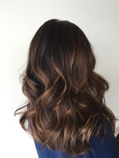 Balayage Highlights Brunette Hair Cuts, Balayage Brunette, Balayage Highlights, Brown Hair Korean, Balayage Straight Hair, Lion Mane, Corte Y Color, Bayalage, Hair Color And Cut