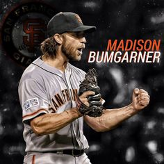 Madison Bumgarner pitches great and the Giants beat the Brewers My Giants, Giants Baseball, Baseball Players, New York Giants, Baseball Caps, San Francisco Baseball, San Francisco Giants, 2014 World Series, Madison Bumgarner