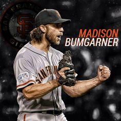 Bumgarner San Francisco Baseball, San Francisco Giants, Giants Baseball, Baseball Players, Baseball Caps, 2014 World Series, Madison Bumgarner, Moving To San Francisco, G Man