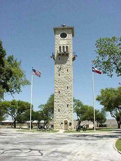 Quadrangle at Fort Sam Houston, San Antonio, Texas