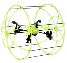 r-2.4Ghz Stunt Helicopter UFO Aircraft RC Flies Runs Climbing Walls