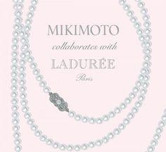 Mikimoto meets Ladurée - the most romantic collaboration