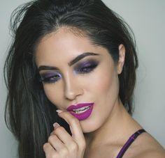 Melissa Alatorre -- Instagram:  Lips are @anastasiabeverlyhills Madison