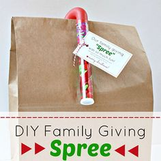DIY Family Giving Spree -- Get your house and your family ready for Christmas by giving to charity or a local family in need. Such a fun new family tradition! Get the how-to and free printable over on the Nestle site!