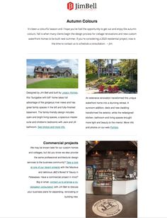 Our latest eNewsletter is here! Custom Home Designs, Custom Homes, Cottage Renovation, Waterfront Homes, Getting Out, Design Process, Architecture Design, House Design, Colours