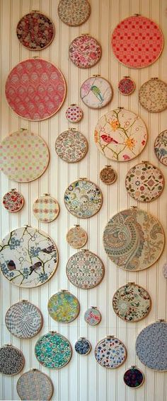 Embroidery Hoop Door