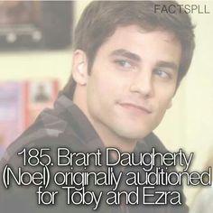 I wish he got Ezra bc Noel is FINE!! and Ezra is around alot