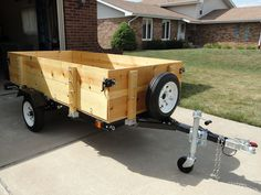 Folding Utility Trailers, Trailer Kits, Parts and Accessories | Red Trailers | www.redtrailers.com