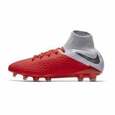 Ανδρικό Ποδοσφαιρικό παπούτσι για σκληρές επιφάνειες Nike Hypervenom III Elite Dynamic Fit FG - AJ3803-600 Nike, Cleats, Sports, Football Boots, Hs Sports, Soccer Shoes, Sport, Wedges, Corks