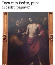 ★★★★★ Imágenes de memes de risa: Puro crossfit papawn I➨ http://www.diverint.com/imagenes-memes-risa-puro-crossfit-papawn/ →  #imágenesdelosmemesenespañol #imágenesdememessúpergraciosos #memeschistososparacomentar #memeschistososparadescargar #memesenespañollatino